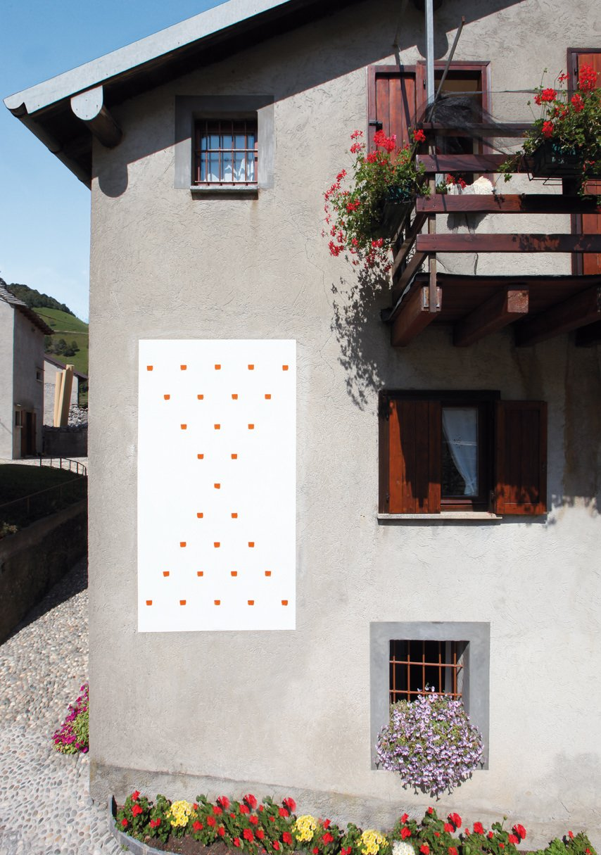 Toroni-Impronte di pennello n. 50 a intervalli di 30 cm -2010